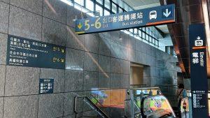 台中高鐵站轉乘指示1