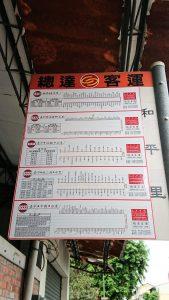 台中高鐵站轉乘指示4